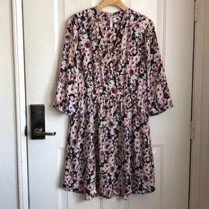 Xhilaration gathered waist dress